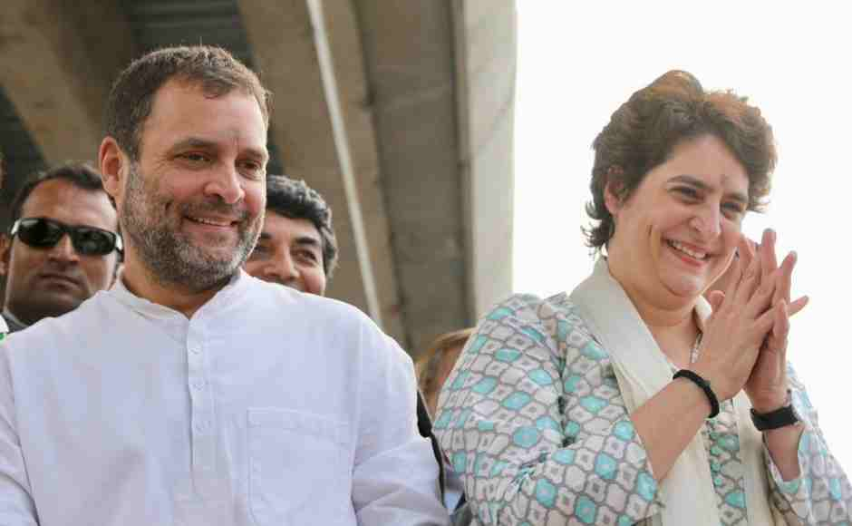 Priyanka Gandhi and Jyotiraditya Scindia will stay back in Lucknow till 14 February to hold meetings with party leader and workers in order to chalk out strategy for the upcoming Lok Sabha polls. Twitter/@INCIndia