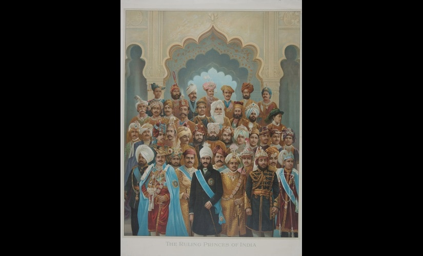 The Ruling Princes of India c 1930s