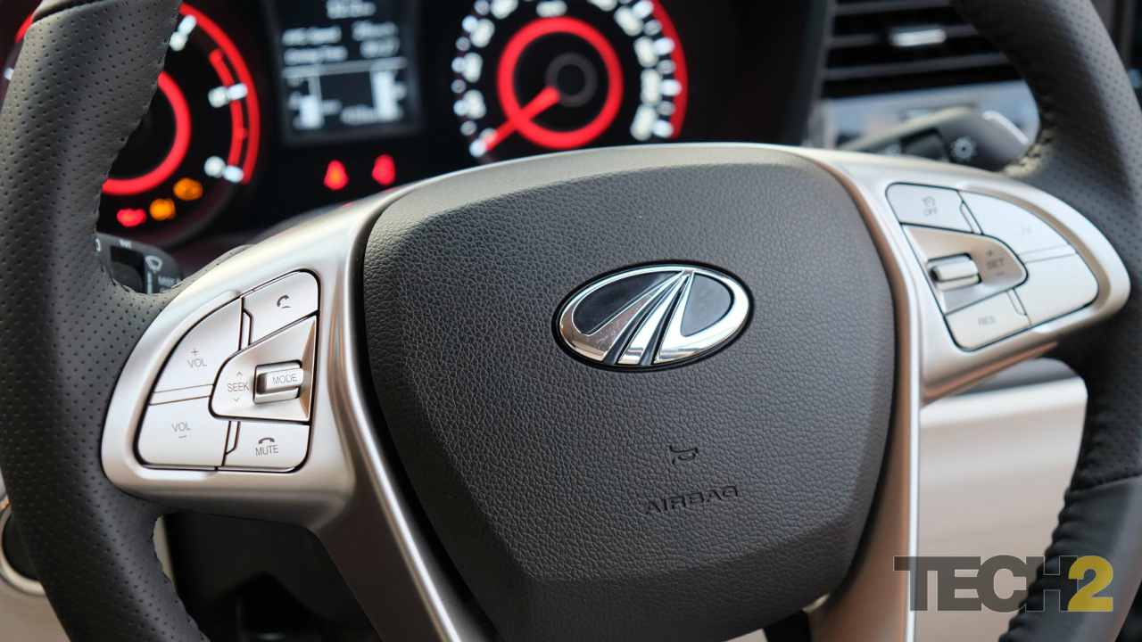 The SUV will sport a dual-tone beige-black dashboard with silver trims that look well laid out.