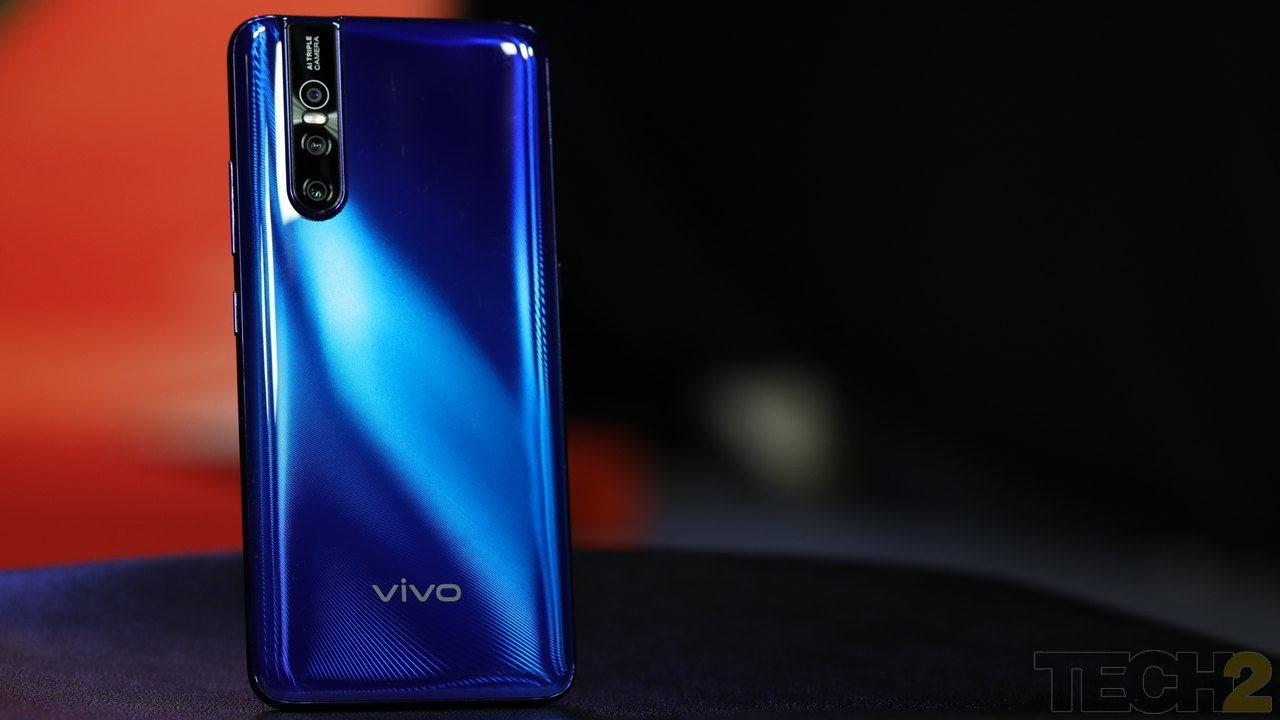 Vivo V15 Pro. Image: tech2/Nandini Yadav