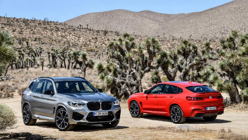 BMW X3 and X4 M series feature a new M-specific suspension package with electronically controlled dampers. Image: Overdrive