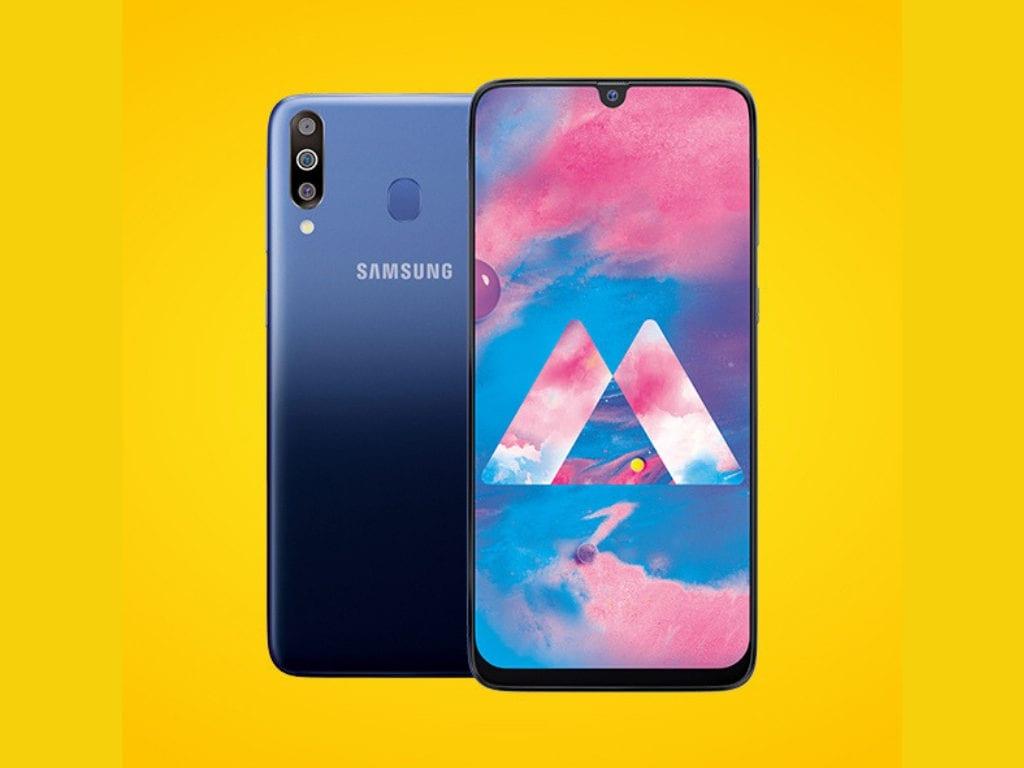 Samsung Galaxy M30 with Infinity-U display, 5,000 mAh