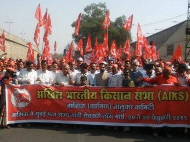 Farmers long march from Nashik to Mumbai to continue as talks with Maharashtra government remain inconclusive