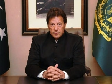 File picture of Imran Khan. PTI