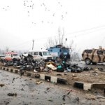 Pulwama terror attack occurred close to site of militant strike on CRPF personnel in December 2017