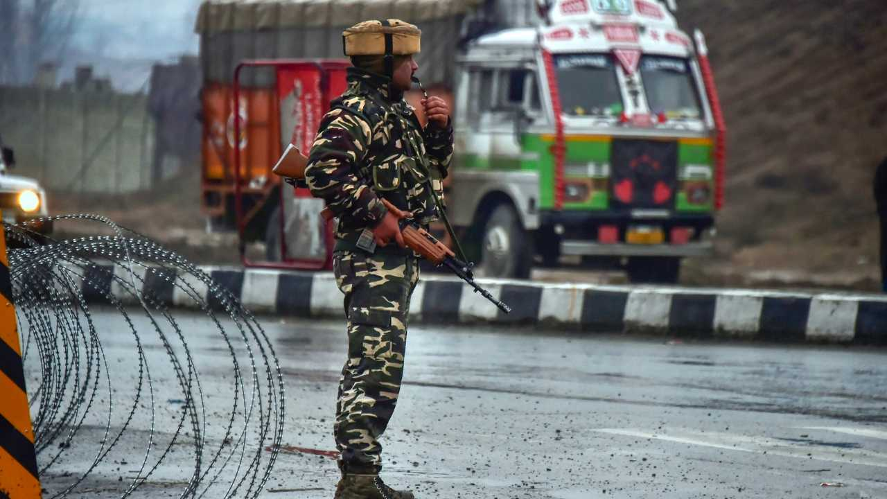 At least 40 CRPF personnel were killed in a JeM attack in Pulwama on 14 February. PTI