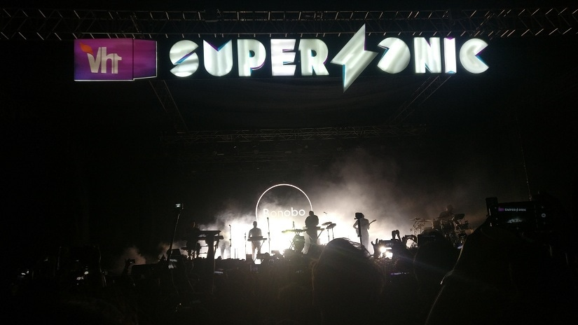 At Vh1 Supersonic