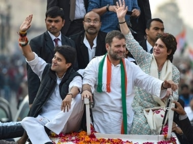 Congress appoints six AICC secretaries in Uttar Pradesh; strengthens Priyanka Gandhi, Jyotiraditya Scindia's teams