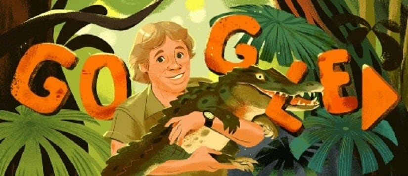 Steve Irwin: Google Doodle marks Crocodile Hunter, conservationists 57th birthday