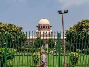 File image of the Supreme Court of India. PTI