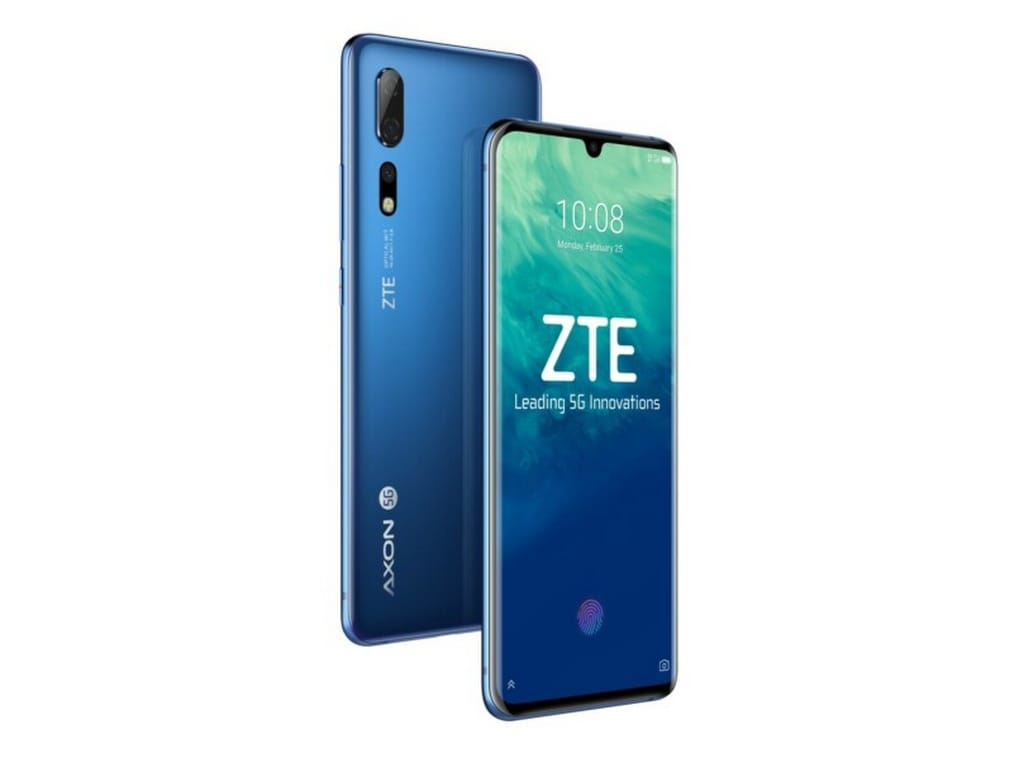 ZTE Axon 10 Pro 5G will be released in China and the European market in the first half of 2019.