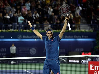 Dubai Championships: Roger Federer clinches 100th singles title after beating Stefanos Tsitsipas in final