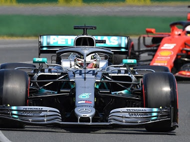Australian Grand Prix: Mercedes Lewis Hamilton clocks fastest time in final practice session; Sebastian Vettel of Ferrari finishes second