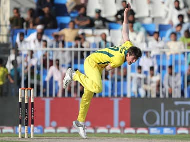 Jhye Richardson has dislocated his shoulder and will head home from the Pakistan tour. AFP