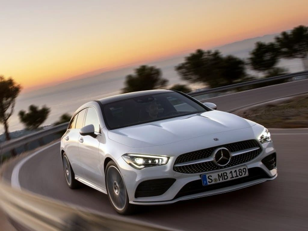 2020 Mercedes-Benz CLA Shooting Brake is a new station wagon with added load space.