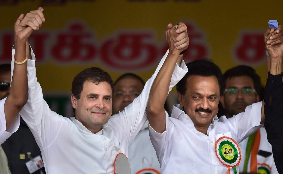 Rahul Gandhi launches UPA's poll campaign in Tamil Nadu, promises 33% quota for women in govt jobs