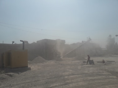 Ishwar Baghel gets paid Rs 8,000 to cook food at this stone crushing site, but most aren't that lucky. Parth MN