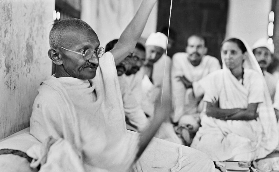 A picture of the Mahatma taken at Dandi in 1930. The impressions of his journey through India were published by Bosshard in his book Indien kämpft! in 1931. The exhibition at Mumbai's museum that kicked off on 23 February is set to be on display till 24 March. Image courtesy Fotostiftung Schweiz / Archiv für Zeitgeschichte