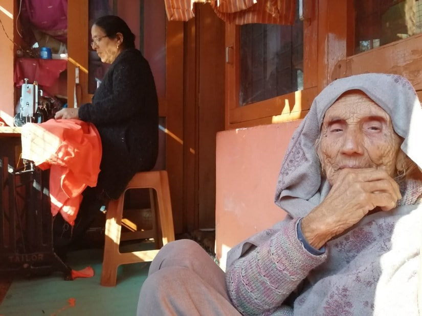 Koushalya Devi started a tailoring shop after her husband died post their flight from the Valley. Alok Pathania/101Reporters