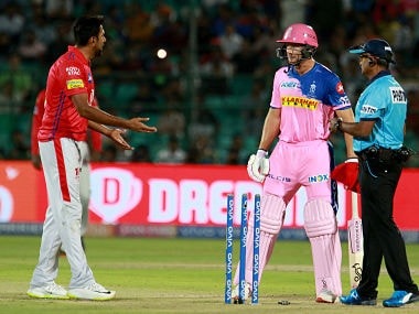 IPL 2019, RR vs KXIP: From Ravichandran Ashwin Mankading Jos Buttler to Sarfaraz Khan's Dilscoop, best moments from the tie