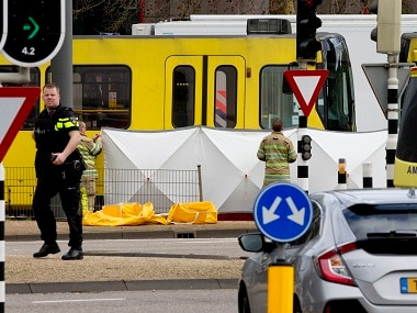 Netherlands tram shooting: Police arrest suspect hours after distributing his picture; three dead, five injured in Utrecht