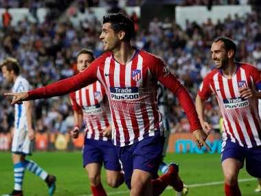 LaLiga: Atletico Madrid keep title hopes alive with Alvaro Morata-inspired win over Real Sociedad; Valencia see off Athletic Bilbao