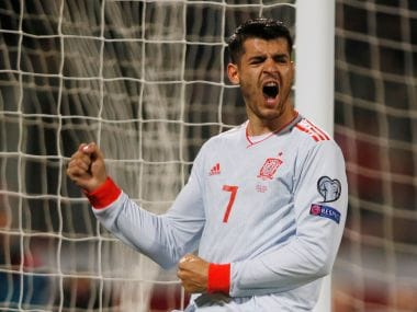Euro 2020 qualifiers: Alvaro Morata nets brace to continue remarkable revival as Spain see off Malta