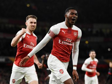 Europa League: Arsenal overcome first-leg deficit to see off Rennes; Chelsea rout Dynamo Kiev to reach quarter-finals