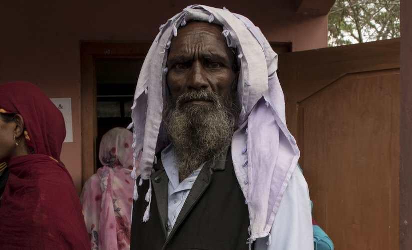 Ashraf Ali, whose sons names are missing fro the NRC second draft. Bidisha Barman