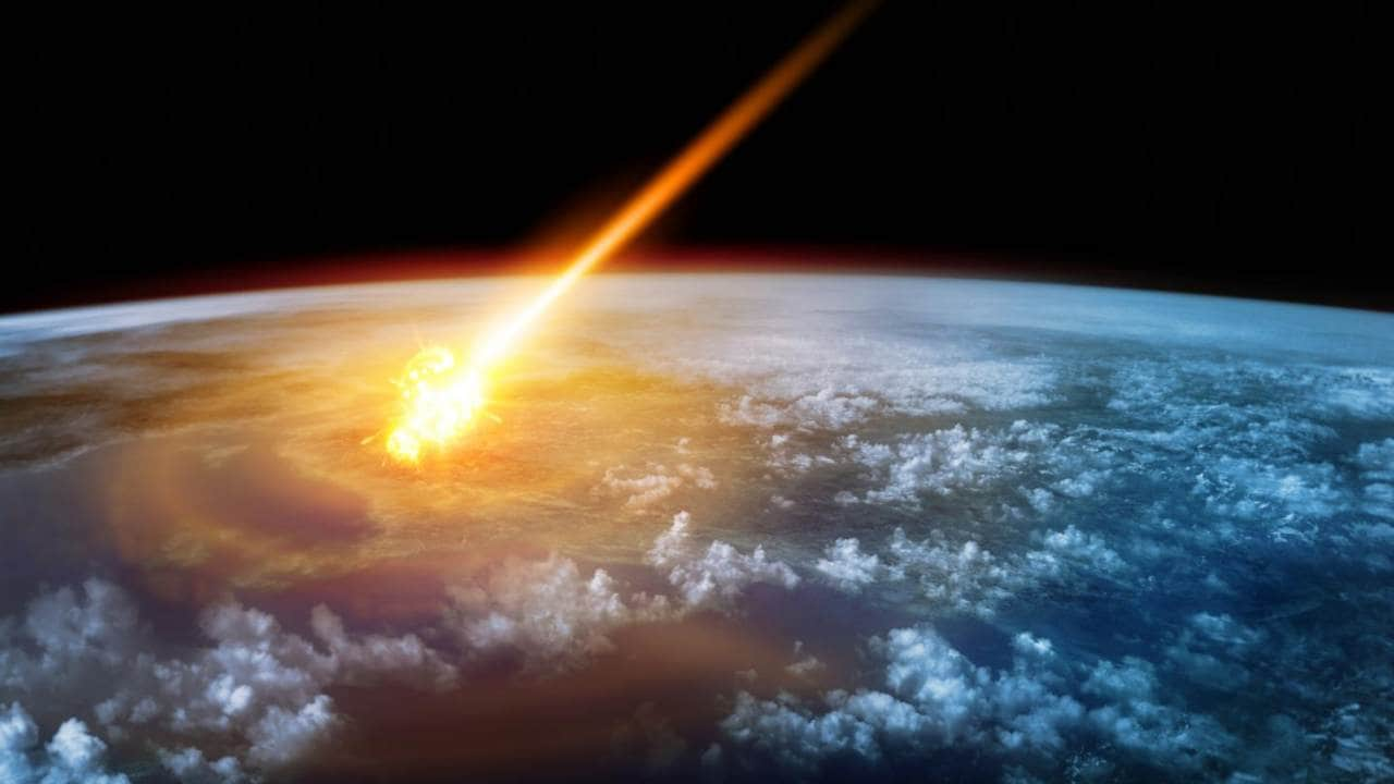 NASA Detects Giant Meteor Explosion Over Bering Sea