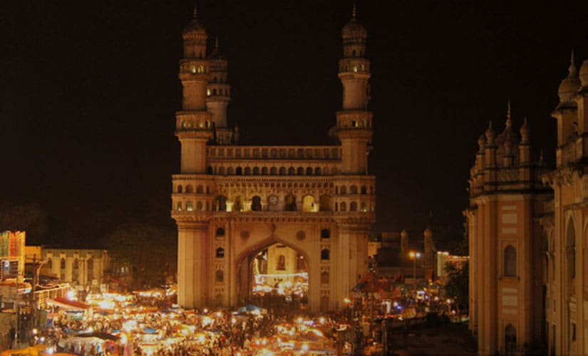 The iconic Charminar in Hyderabad. Image courtesy CNBC-TV18