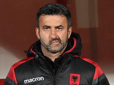 Euro 2020 qualifiers: Albania show Christian Panucci the exit door after tasting defeat in opener to Turkey
