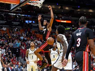 NBA: Kelly Olynyk scores 25 points as Miami Heat thrash Brooklyn Nets; Stephen Curry inspires Golden State Warriors victory