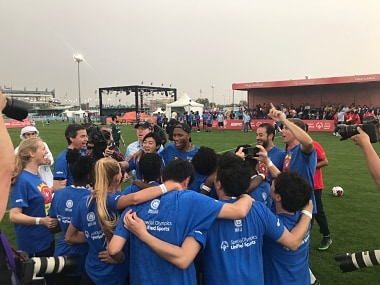 Special Olympics 2019: Former Ivory Coast legend Didier Drogba emphasises values of compassion and tolerance
