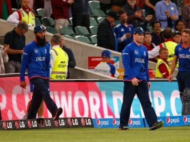 Sanjay Manjrekar has doubts over England's temperament in global events; says want to see how they cope pressure at World Cup