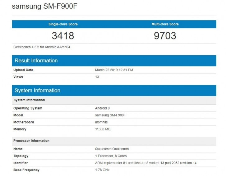 Image: Geekbench