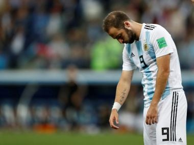 Gonzalo Higuain retires from international football, says he gave it his all while playing for Argentina