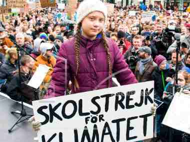 Swedish teen climate activist Greta Thunberg nominated for Nobel Peace Prize; 16-yr-old began skip school protests to save planet