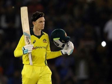 India vs Australia: Peter Handscomb puts Test failures behind him to spark visitors' resurgence in ODI cricket