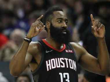 NBA: James Harden creates history as Houston Rockets condemn Atlanta Hawks to their 48th defeat this season