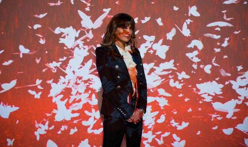 With Introspection, her latest art exhibit, Michelle Poonawalla urges us to reflect on news we consume