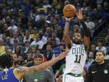 NBA: Kyrie Irving stars in Celtics impressive win over injury-riddled Lakers; Timberwolves beat Wizards in overtime