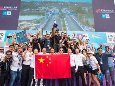 Sanya ePrix 2019: Reigning champion Jean-Eric Vergne breaks point-scoring drought to secure first victory of season