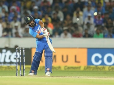 Kedar Jadhav scored 81 off 87 to help India complete a tricky chase and win the first ODI against Australia. AP