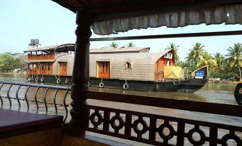 A houseboat on the Vembanad lake. Simantik Dowerah/Firstpost