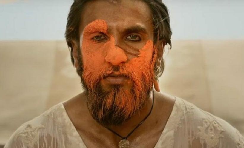 Ranveer Singh as Khilji in Padmaavat. Source: Twitter