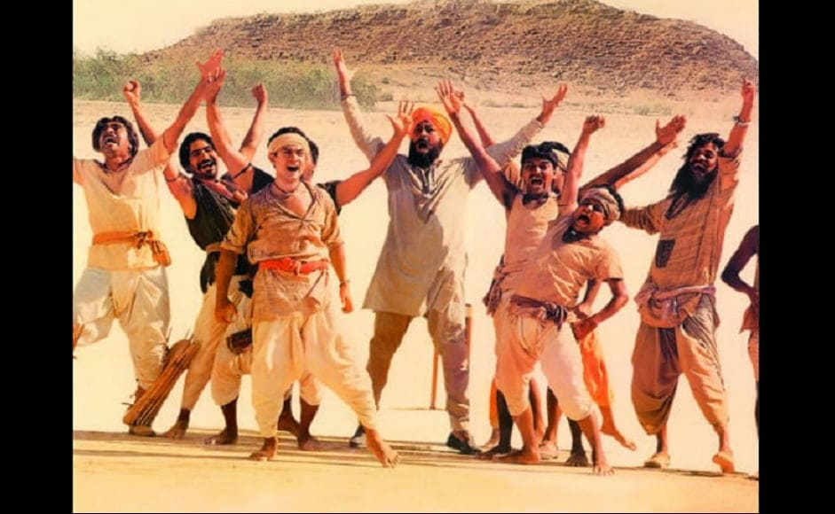 Directed by Ashutosh Gowarikar and starring Aamir Khan, this film about Indians beating their colonial overlords in a cricket match won an Oscar nomination for best foreign-language film. (Source: Twitter)