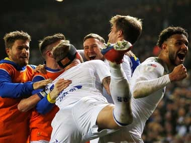EFL Championship: Leeds United fire four past promotion rivals West Bromwich Albion to retake first place