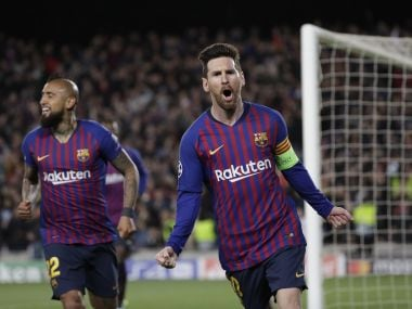 Champions League: Lionel Messi-inspired Barcelona thrash Lyon to ensure Spanish representation in quarter-finals