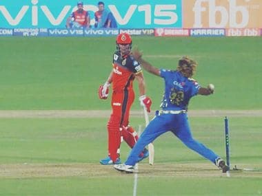 Replays showed that Lasith Malinga had overstepped off the final ball of the match but the umpire missed it. Image courtesy Twitter